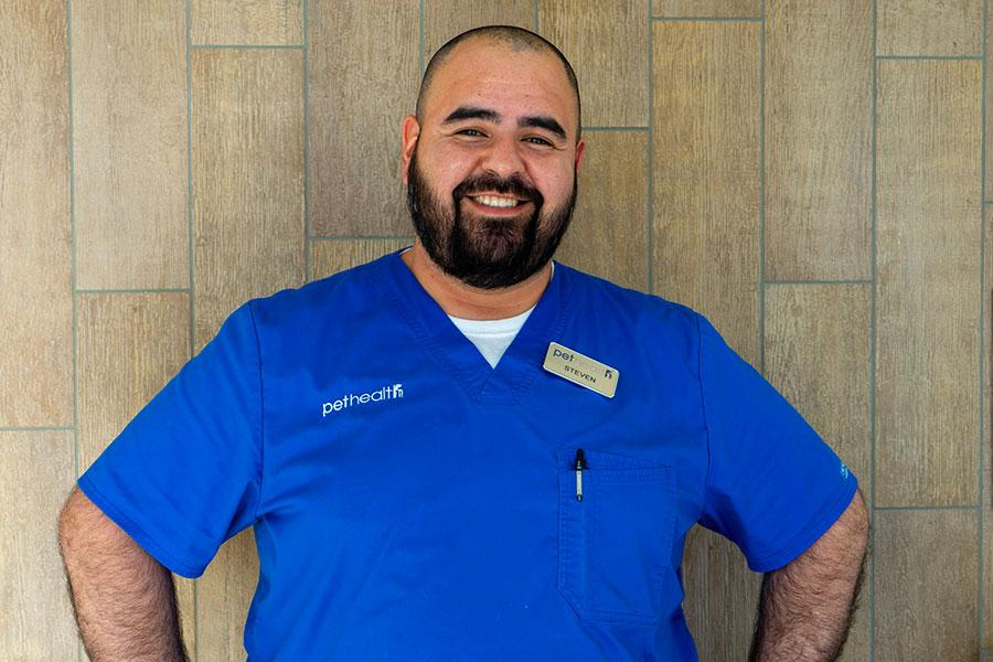 Steven Alarcon- Veterinary Assistant